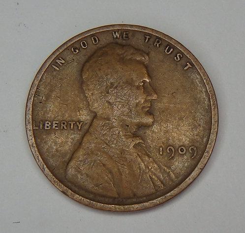 1909 Wheat Cent