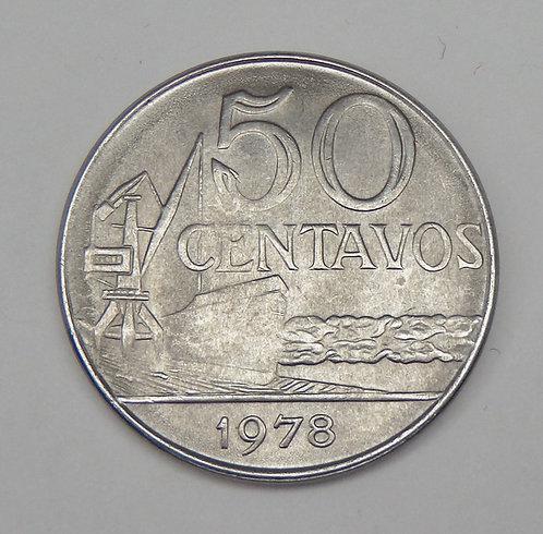 Brazil - 50 Centavos - 1978