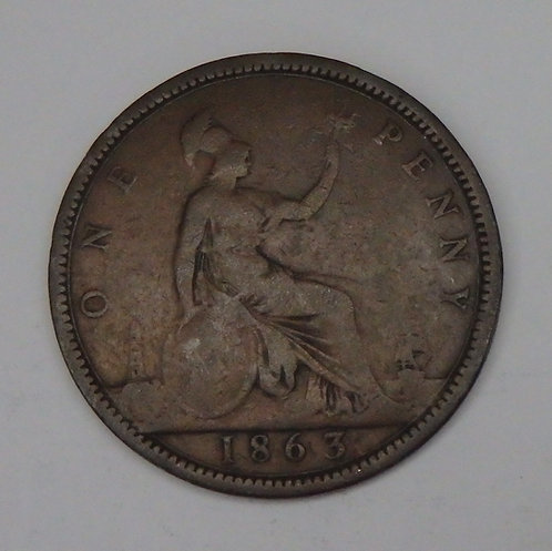Great Britain - Penny - 1863