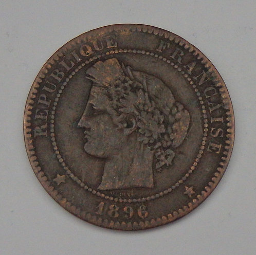 France - 10 Centimes - 1896A