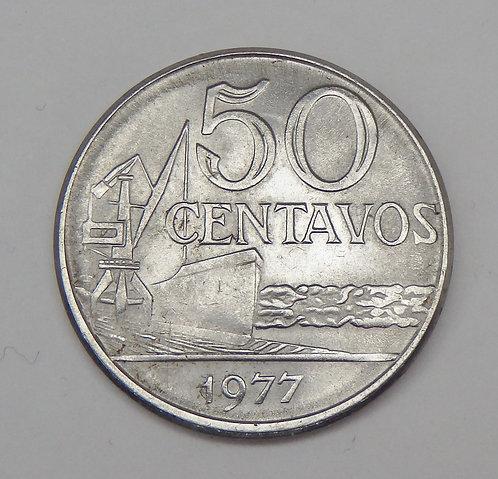 Brazil - 50 Centavos - 1977
