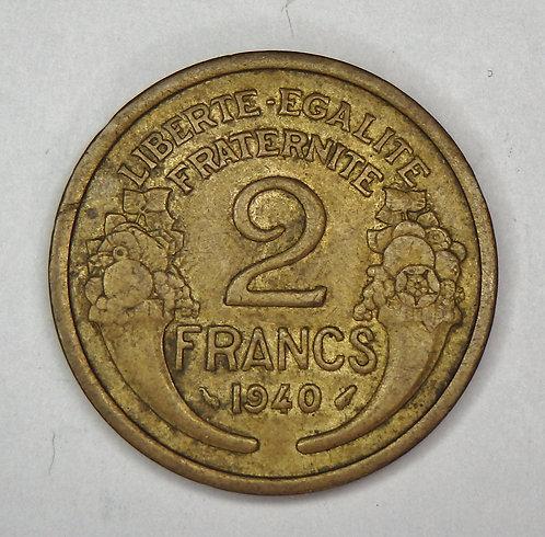 France - 2 Francs - 1940