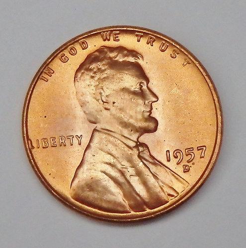 1957 Wheat Cent