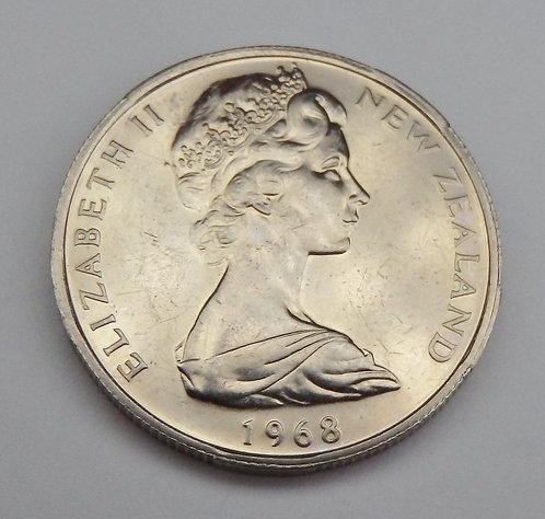 New Zealand - 50 Cents - 1968
