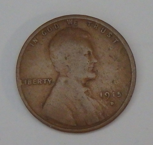 1915-D Wheat Cent