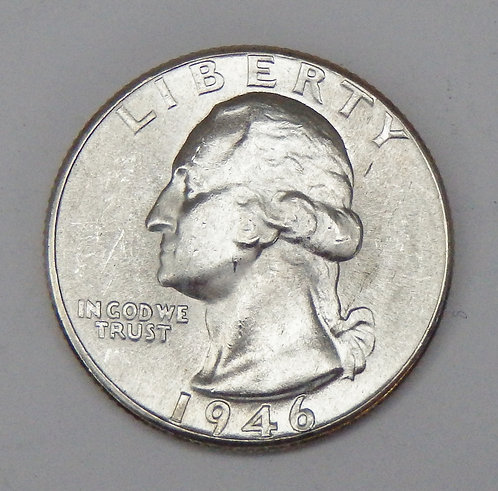 1946-D Washington Quarter