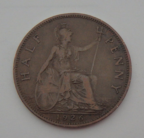 Great Britain - Half Penny - 1926