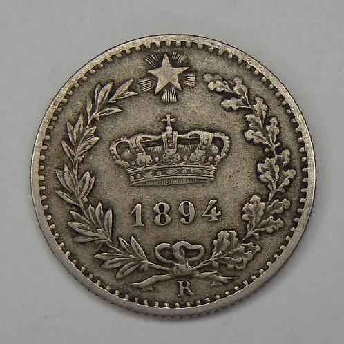 Italy - 20 Centesimi - 1894-R