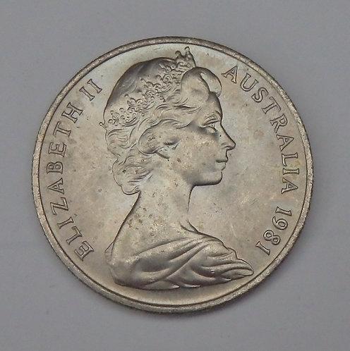 Australia - 10 Cents - 1981