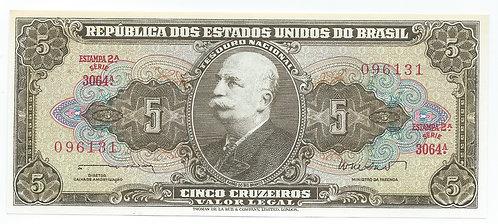 Brazil - 5 Cruzeiros - 1962-64