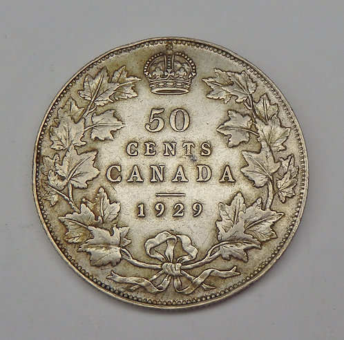 Canada - 50 Cents - 1929