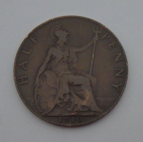 Great Britain - Half Penny - 1910