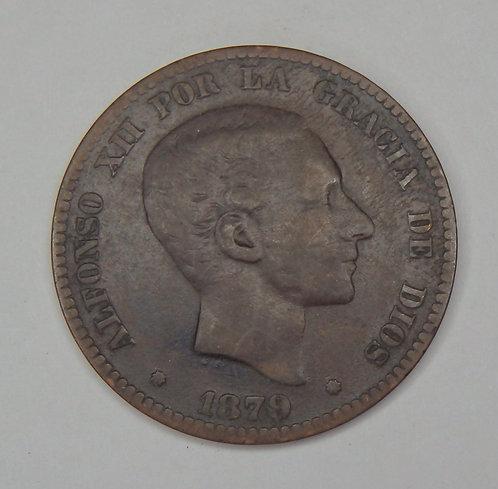 Spain - 1879 - 10 Centimos