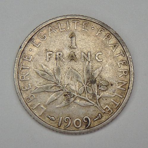 France - Franc - 1909