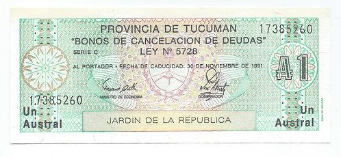 Argentina - Austral - 1991