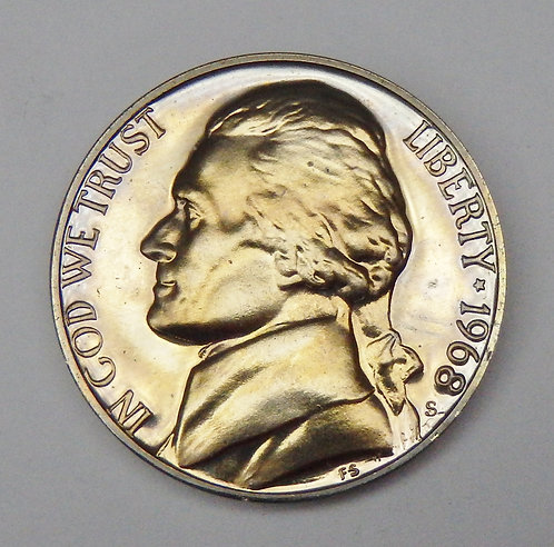 1968-S Jefferson Nickel