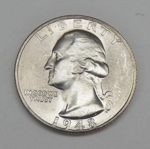 1948-S Washington Quarter