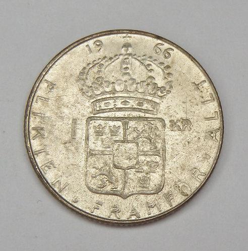 Sweden - Krona - 1966-U