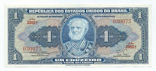 Brazil - 1 Cruzeiro - 1958