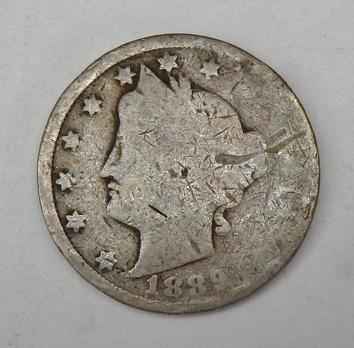 1889 Liberty V Nickel