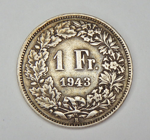 Switzerland - Franc - 1943-B