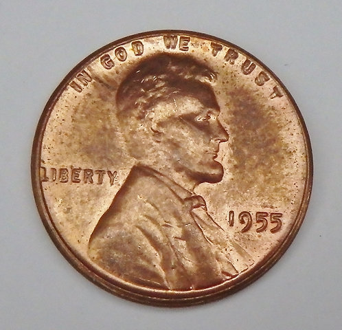 1955 Wheat Cent