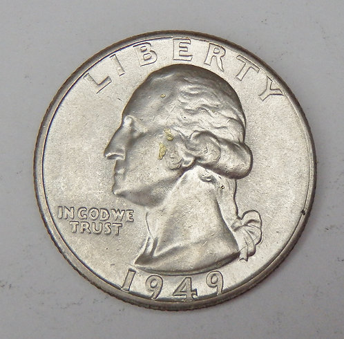 1949-D Washington Quarter