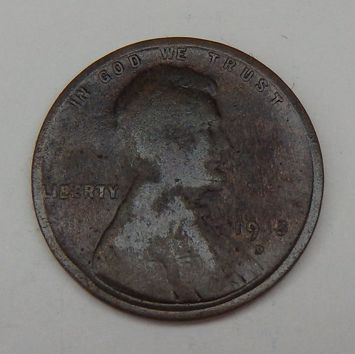 1915-D Lincoln Cent