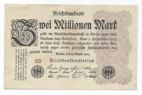 Germany - 2 Million Mark - 1923
