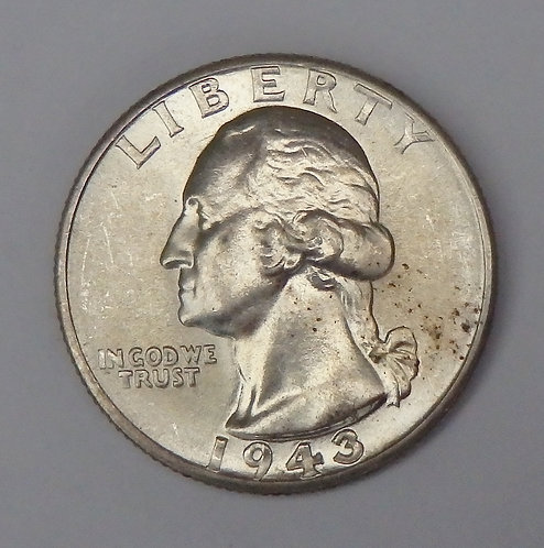 1943-D Washington Quarter