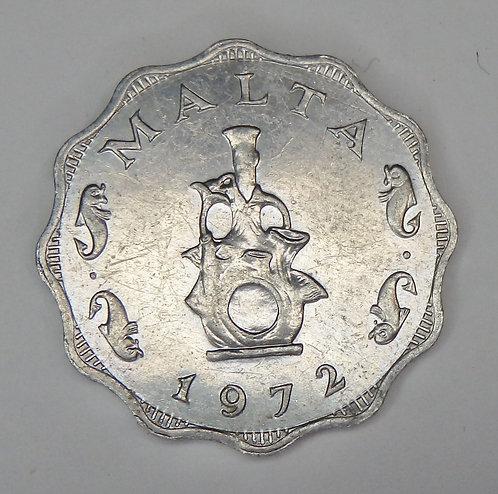 Malta - 5 Mils - 1972