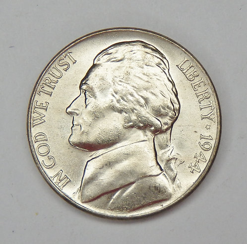 1944-P Jefferson Nickel