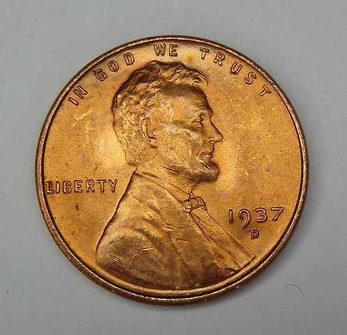 1937-D Wheat Cent