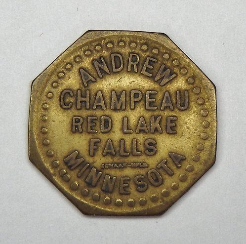 Minnesota, Red Lake Falls - Andrew Champeau Token