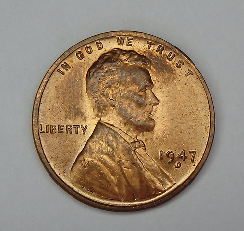1947-D Wheat Cent