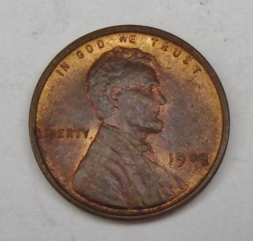 1909-VDB Lincoln Cent