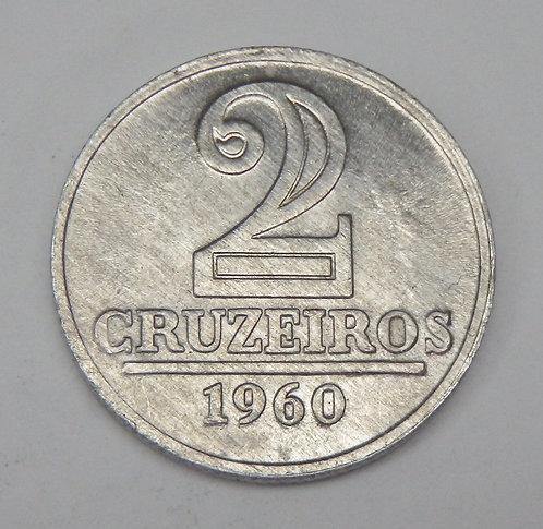 Brazil - 2 Cruzeiros - 1960