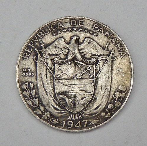 Panama - 1/4 Balboa - 1947
