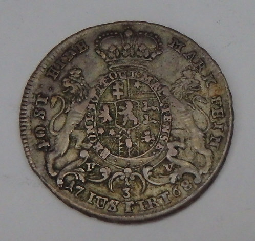 Germany-Hesse-Cassel - 1/3 Thales - 1768