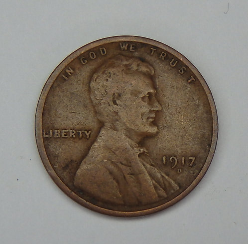 1917-D Wheat Cent