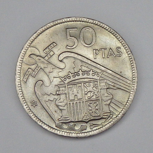 Spain - 50 Pesetas - 1957(60)