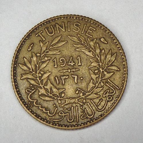 Tunisia - Franc - 1941