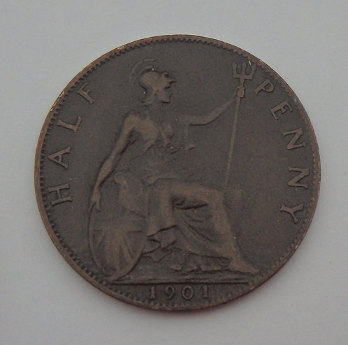 Great Britain - Half Penny - 1901