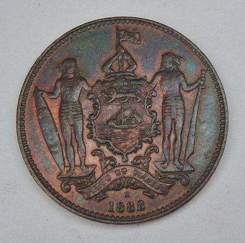 British North Borneo - Cent - 1888H