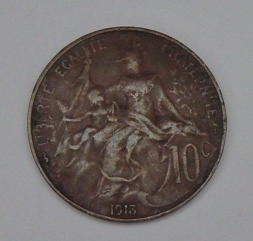 France - 10 Centimes - 1913