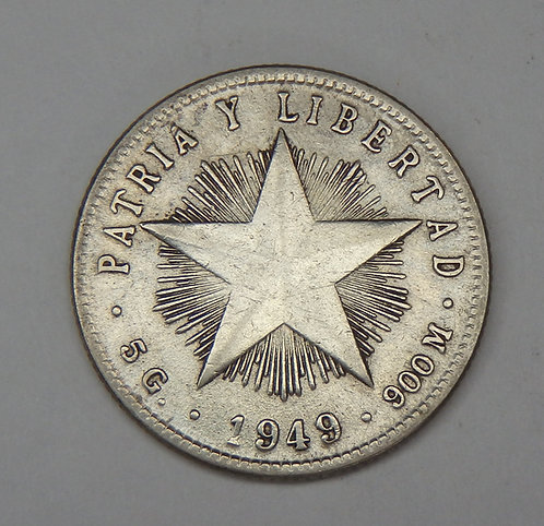 Cuba - 20 Centavos - 1949