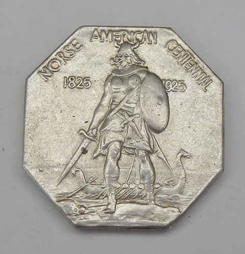 1925 Norse American Medal - Thick