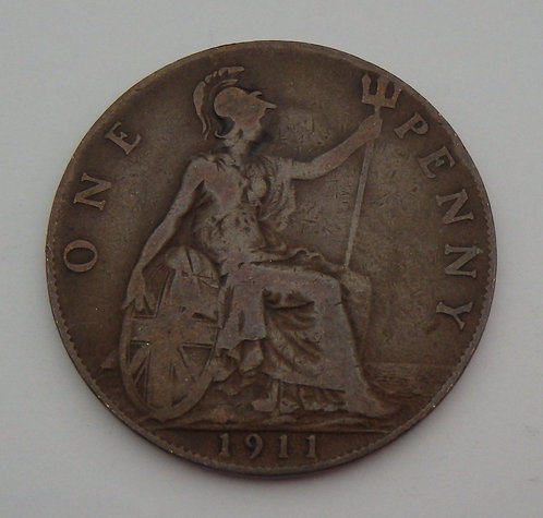 Great Britain - Penny - 1911