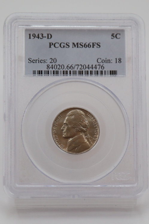 1943-D Jefferson Nickel