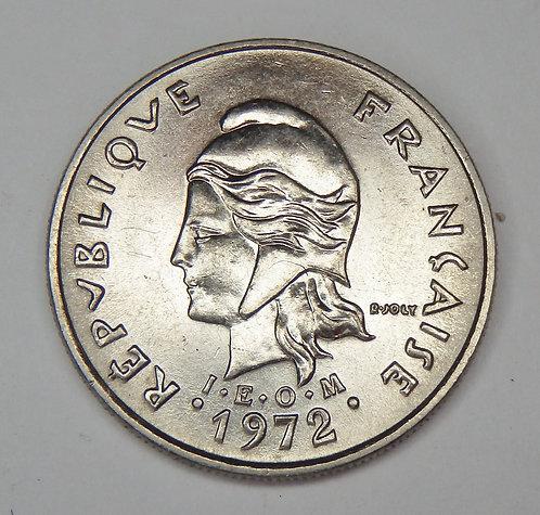 French Polynesia - 10 Francs - 1972